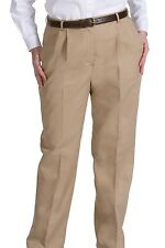 Women's Business Casual Pleated Pant 8619