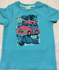 ANIMAL T-SHIRT (ABOOT) TURQUOIS GIRLS  AGES 3/4 TO 5/6 YRS  BNWT.RRP £10