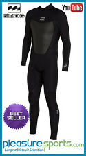 Men's Billabong  Foil Wetsuit 3/2mm 302 GBS SEALED Seams Back Zip Surfing Diving
