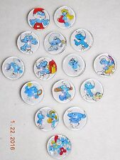 NEW snap chunk button SMURF assorted charms for leather bracelets/18MM-19MM