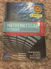 Mathematical Methods Dimensions Units 1&2