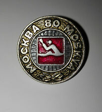 1980 Summer Olympics Games of the XXII Olympiad Pin Badges Moscow Canoeing