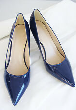New Womens Pointed Patent Kitten High Heels Sizes 3, 4, 5, 6, 7, 8 UK