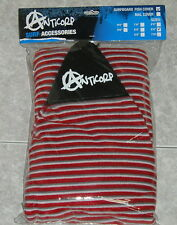 ANTICORP STRETCH SURFBOARD SOCK COVER 6 FT RED  MADE IN TAIWAN NOT CHINA