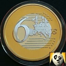 2015 SEX 6 EURO KAMASUTRA Gold Coin Medal Different Positions Sexy Birthday Gift