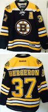 PATRICE BERGERON BOSTON BRUINS REEBOK PREMIER PRO CUSTOMIZED HOCKEY JERSEY