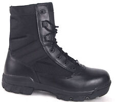 """Bates Men's 8"""" Plain Toe Leather Summer Tactical/Security/Police Boots-02229"""