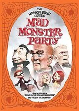 Mad Monster Party Original (DVD, 2005, Foil O-Card Packaging)  Brand New