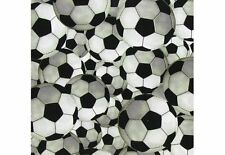 Soccer Ball Boys Sports Equipment Team Fabric By the Yard or Half Yard t6/30