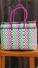 LARGE Mexican Handwoven Tote Bag Womens Bag Lunch Bag Picnic Bag Diaper Bag