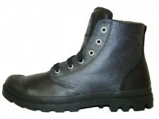 NEW Palladium Pampa HI Leather Shoes Boots Leatherboots Black for Men 02355033
