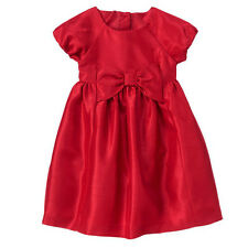 GYMBOREE VERY MERRY Girls NWT Holiday Bow Dress Red 4