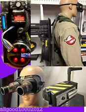 GHOSTBUSTERS COSTUME PROTON PACK, BACKPACK, Ecto-Goggles,Ghost Tra. Lot Cosplay