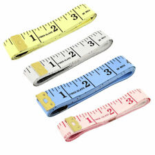 """Body Measuring Sewing Cloth Tailor Tape Measure Soft Flat Ruler 60"""" 150cm"""