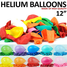12 INCH HIGH QUALITY LARGE LATEX HELIUM AIR BALLOONS FOR PARTY WEDDING BIRTHDAY