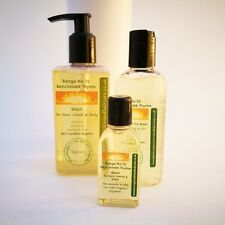 BENCHMARK THYME FACE, HAND & BODY WASH~New Dawn Organic Aromatherapy Skin Care