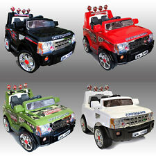 KIDS RIDE ON JEEP 12V ELECTRIC CHILDRENS BATTERY REMOTE CONTROL TOY CAR / CARS
