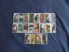 BROOKE BOND DOUBLE CARDS:THE DINOSAUR TRAIL BB11 1PG:No's1-20 BUY INDIVIDUALLY