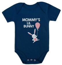Mommy's Lil' Bunny - Very Cute Baby Grow Vest Easter Baby Onesie Gift Idea