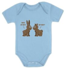 Easter Chocolate Bunnies Funny Easter Gift Bodysuit Cute Baby Bodysuit Grow Vest