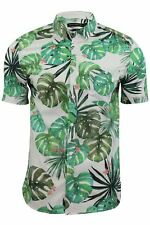 Mens Floral Hawaiian Shirt by FCUK/French Connection 'Sundowner'