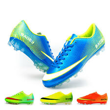Men's Athletic Soccer Trainers Outdoor Soft Football Sport Turf Cleats US Shoes