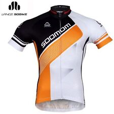 2014 SOBIKE Cycling Summer Short Jersey Short Sleeves-Time Tunnel Gold