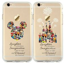 Cartoon Movie Character Fan Art CLEAR TPU Cover Case for iPhone & Samsung Range