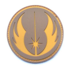 STAR WARS JEDI MORALE BADGE 3D TACTICAL AIRSOFT PVC RUBBER PATCH BADGE