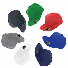 PLAIN SNAPBACK HAT CAPS FLAT PEAK FUNKY RETRO BASEBALL CAP HIP HOP HATS SNAP NEW
