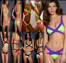 new style Color matching belt bikini sexy A bathing suit Ms bathing suit