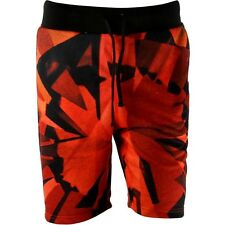 $80 Diamond Supply Co Simplicity Sweat Shorts red