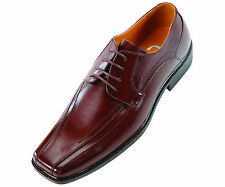 Sio Mens Classic Brown Smooth Wide Width Oxford Dress Shoe: Style Mason-ww-065