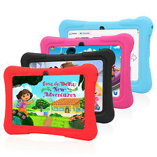 Tablet 7'' Quad Core 8GB Android 4.4 KitKat Kids Tablet WiFi Camera Refurbished
