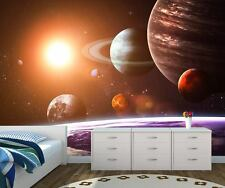 Space Galaxy Wall Mural Photo Wallpaper Solar system