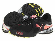 PUMA Women Cell Riaze Cross-Training Shoes (186229) Black/Peach/Yellow M Sz 8.5