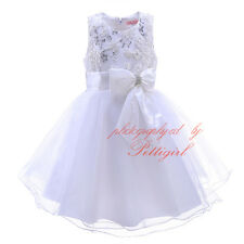 Flower Girls Sequinned Dress Wedding Party Bridesmaid Christening Communion NEW