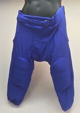 Football America Adult Integrated Football Pant Royal Blue Men's Large XL New