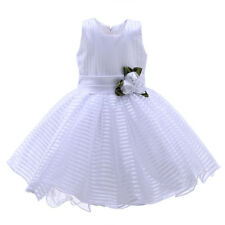 Girls Wedding Bridesmaid Formal Party Christening Communion Flower Girl Dress