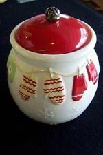 HALLMARK COOKIE JAR DISHWASHER SAFE NO MICOWAVE 7 INCHES TALL FREE SHIPPING