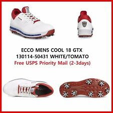 New Ecco Mens Golf Shoes BIOM Hybrid 2 Camel Spikeless EU 39 US 5 - 5.5  $200