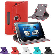 "Slim Tablet Tab Case Cover Pouch Leather Stand 360°Rotate 9.6"" 9.7"" 10"" 10.1"""
