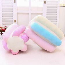 Colorful candy Pillow Plush toys Waist cushion Practical office home ice cream