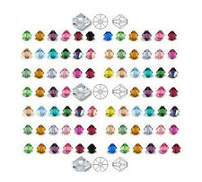 Free Shipping ! 60 Colors Pick 100pcs-1000pcs 4mm 5301/5328 Crystal Bicone Beads