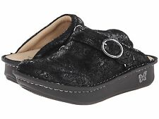 Women's Alegria Seville Clogs Black Flower Flurry SEV-220