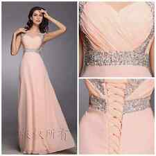 11 Colors New Long Chiffon Evening Formal Party Ball Gown Prom Bridesmaid Dress