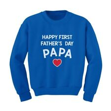 Happy Father's Day Papa - Gift for Grandpa Cute Kids Sweatshirt Children's