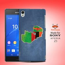 Zambia National Country Flag Case Cover for Sony Xperia