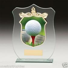 Titans Golf glass trophy in 4 Sizes Free Engraving upto 30 Letters