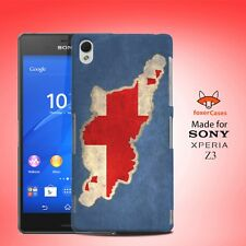 Georgia National Country Flag Case Cover for Sony Xperia